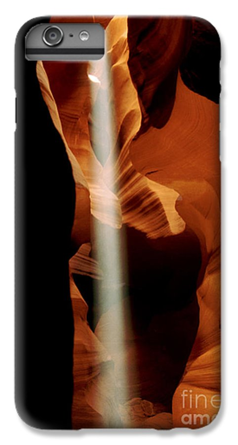 Antelope Canyon IPhone 7 Plus Case featuring the photograph The Source by Kathy McClure