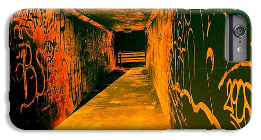 Tunnel IPhone 7 Plus Case featuring the photograph Under The Bridge by Ze DaLuz