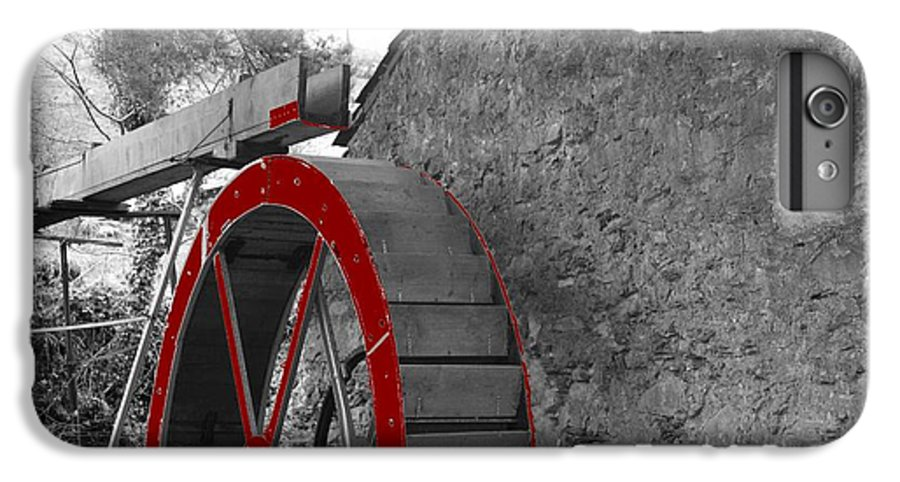 Water IPhone 7 Plus Case featuring the photograph Water Wheel. by Christopher Rowlands