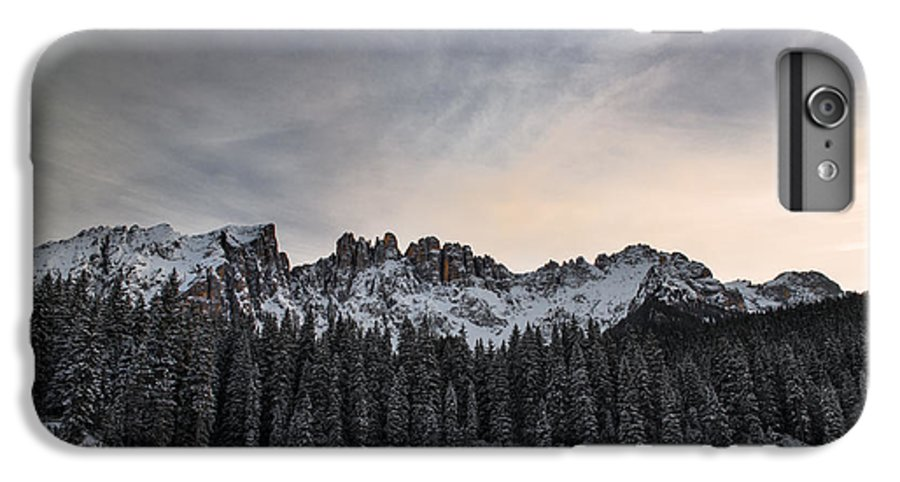 Carezza Lake IPhone 7 Plus Case featuring the photograph Winter On The Carezza Lake by Yuri San