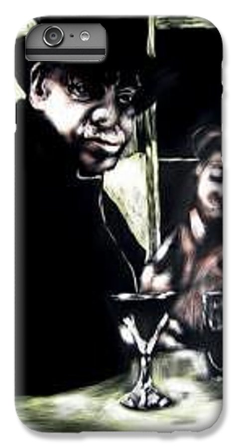 Commentary IPhone 7 Plus Case featuring the mixed media My Old New Orleans by Chester Elmore
