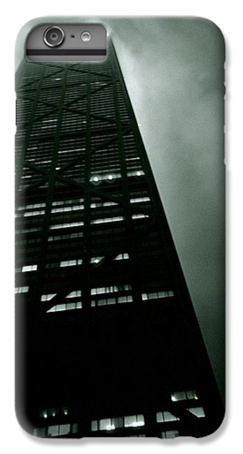 Geometric IPhone 7 Plus Case featuring the photograph John Hancock Building - Chicago Illinois by Michelle Calkins