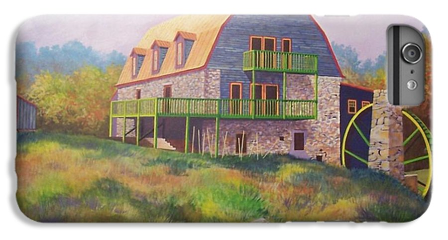 Mill IPhone 7 Plus Case featuring the painting Mountain Mill by Hugh Harris