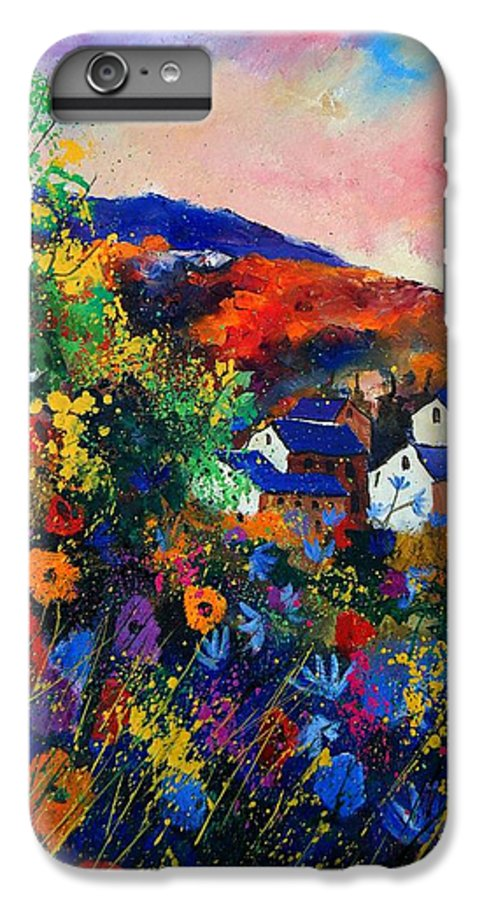 Landscape IPhone 7 Plus Case featuring the painting Summer by Pol Ledent