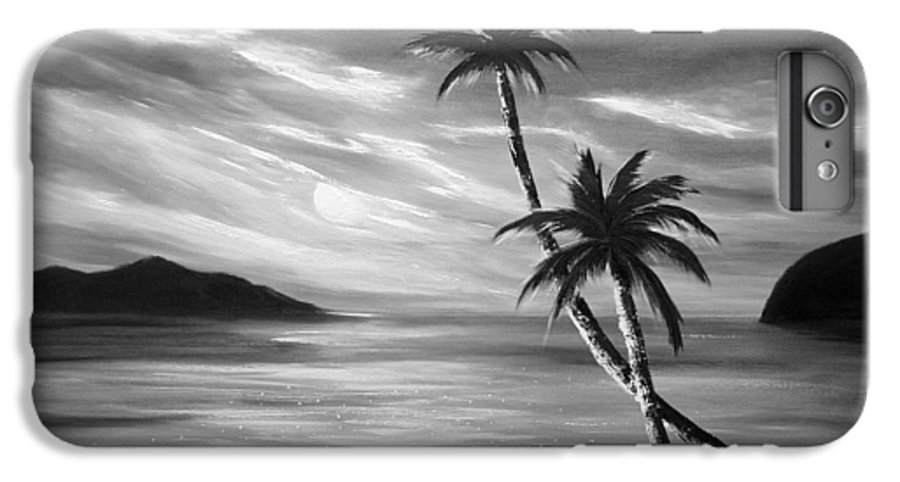 Sunset IPhone 7 Plus Case featuring the painting Sunset In Paradise by Gina De Gorna