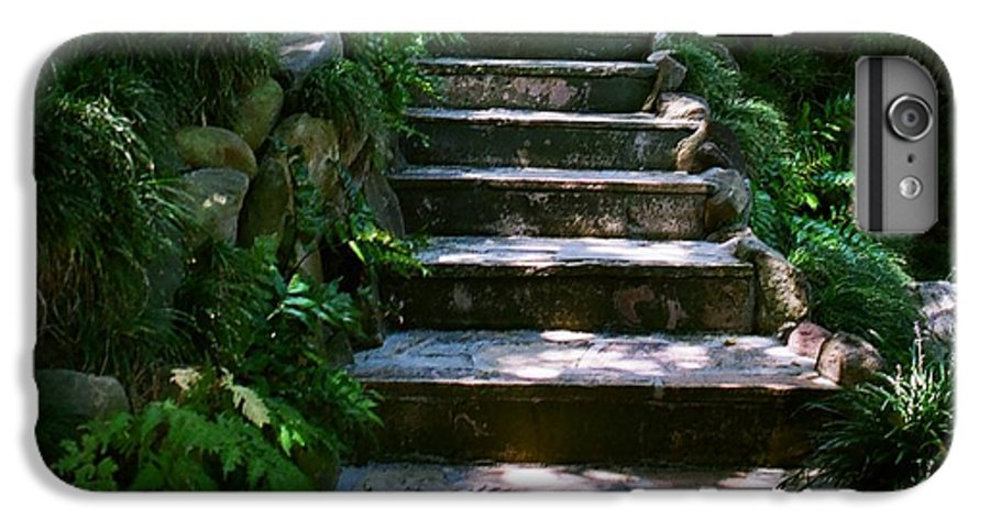 Nature IPhone 7 Plus Case featuring the photograph Stone Steps by Dean Triolo