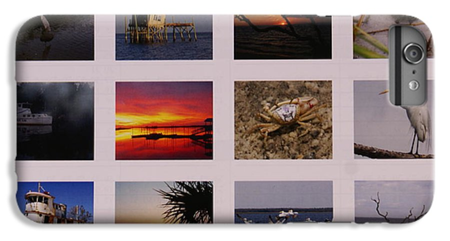 Florida IPhone 7 Plus Case featuring the photograph 2008 Calendar Back Of Gulf Views Edition by Debbie May