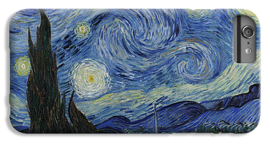 Vincent IPhone 7 Plus Case featuring the painting The Starry Night by Vincent Van Gogh