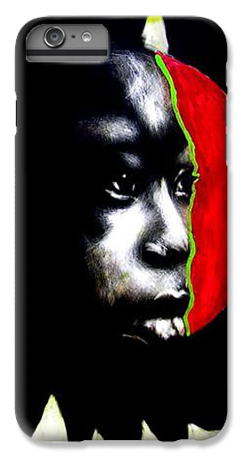 IPhone 7 Plus Case featuring the mixed media 70 Sunshine by Chester Elmore