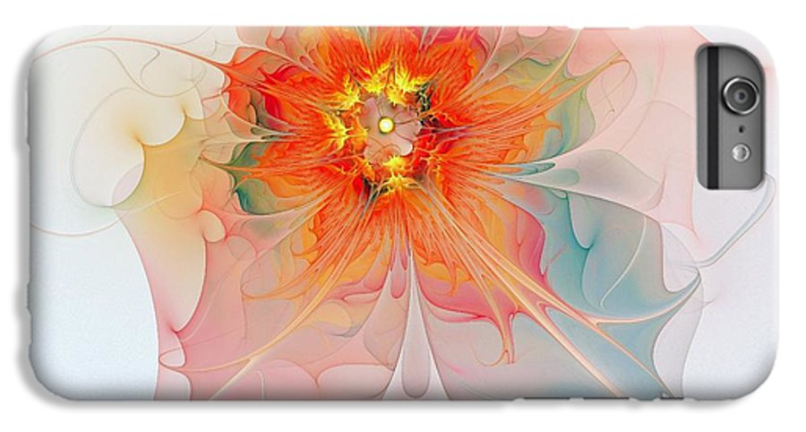 Digital Art IPhone 7 Plus Case featuring the digital art A Touch Of Spring by Amanda Moore