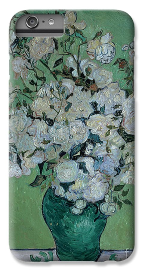 Vase IPhone 7 Plus Case featuring the painting A Vase Of Roses by Vincent van Gogh