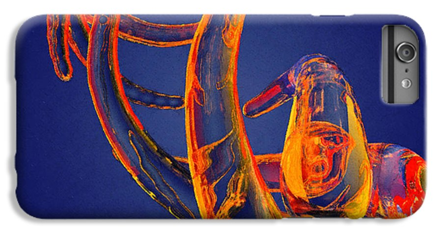 Abstract IPhone 7 Plus Case featuring the photograph Abstract Number 13 by Peter J Sucy