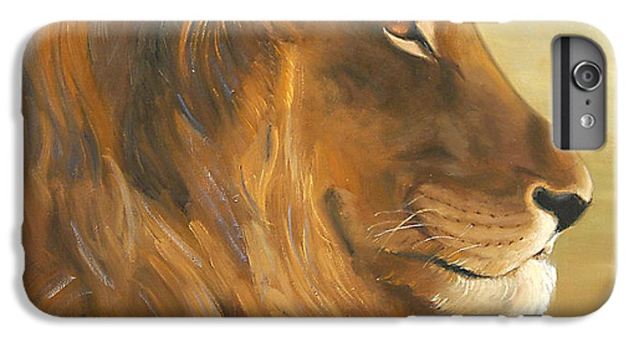 Painting IPhone 7 Plus Case featuring the painting African King by Greg Neal