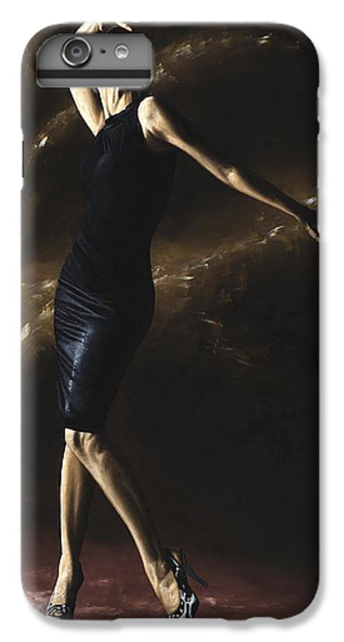 Dance IPhone 7 Plus Case featuring the painting After The Dance by Richard Young