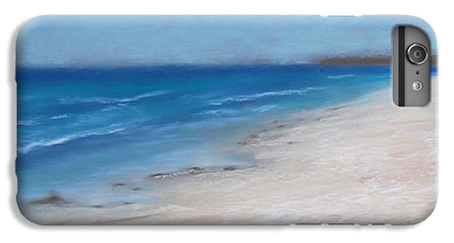 Landscape IPhone 7 Plus Case featuring the pastel Afternoon On Honeymoon Island by Greg Neal