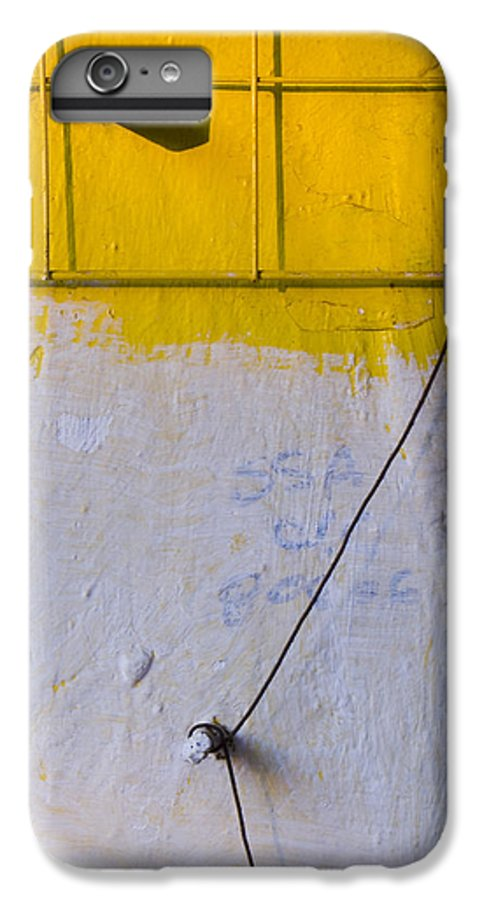 Abstract IPhone 7 Plus Case featuring the photograph Amarillo by Skip Hunt