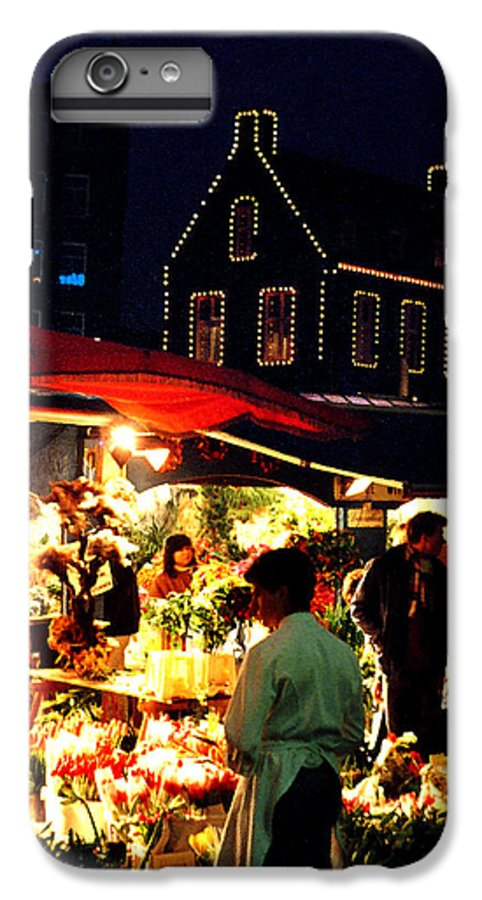 Flowers IPhone 7 Plus Case featuring the photograph Amsterdam Flower Market by Nancy Mueller