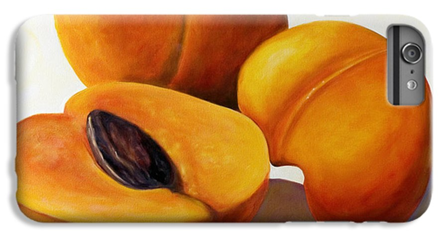 Apricots IPhone 7 Plus Case featuring the painting Apricots by Shannon Grissom