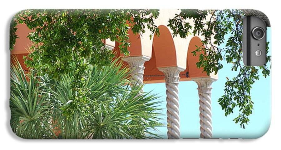Architecture IPhone 7 Plus Case featuring the photograph Arches Thru The Trees by Rob Hans