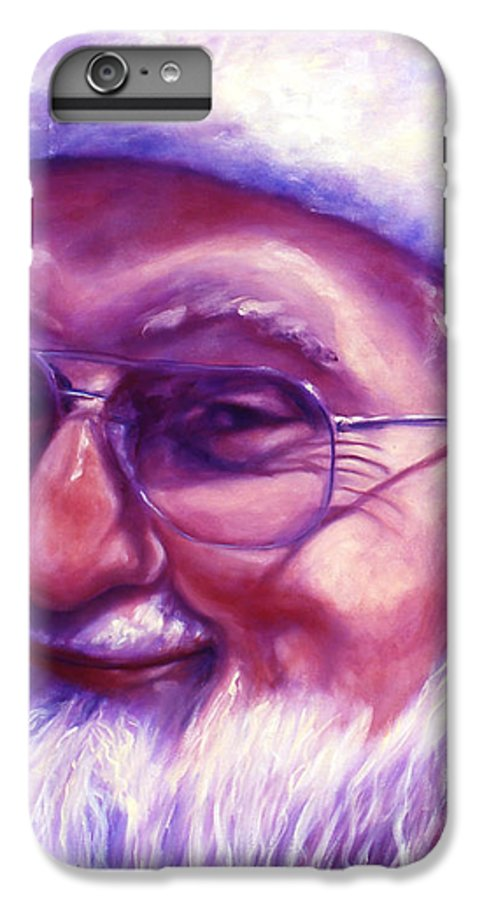 Portrait IPhone 7 Plus Case featuring the painting Are You Sure You Have Been Nice by Shannon Grissom