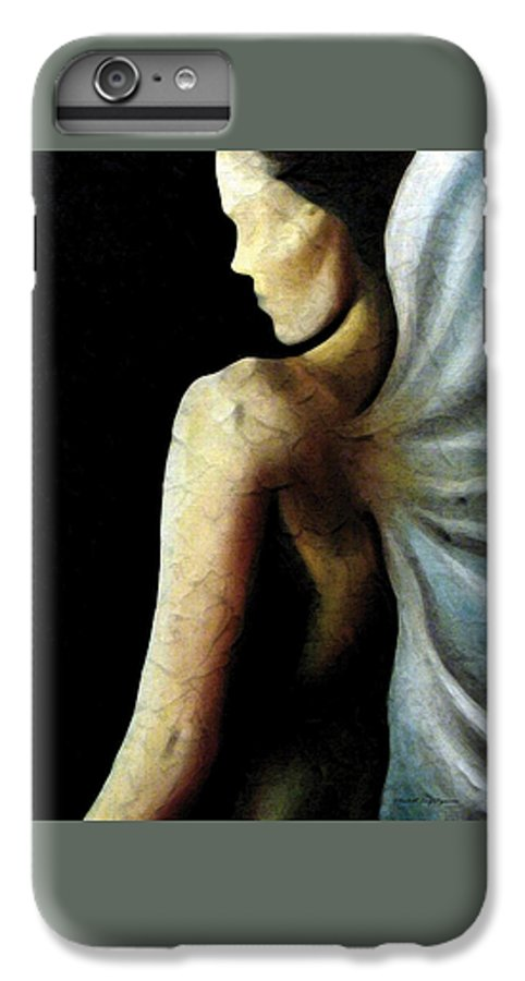 Angel IPhone 7 Plus Case featuring the painting Armaita Angel Of Truth Wisdom And Goodness by Elizabeth Lisy Figueroa