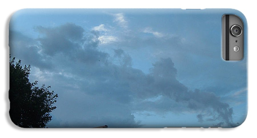 Sky IPhone 7 Plus Case featuring the photograph Atmospheric Barcode 19 7 2008 18 Or Titan by Donald Burroughs