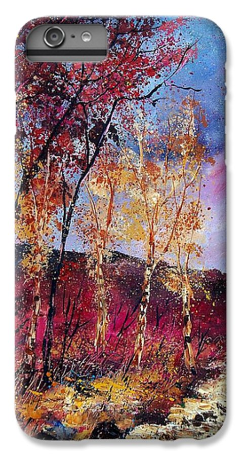 Landscape IPhone 7 Plus Case featuring the painting Autumn 760808 by Pol Ledent
