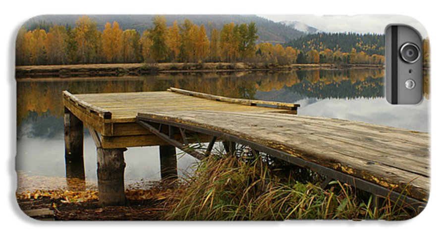 River IPhone 7 Plus Case featuring the photograph Autumn On The River by Idaho Scenic Images Linda Lantzy