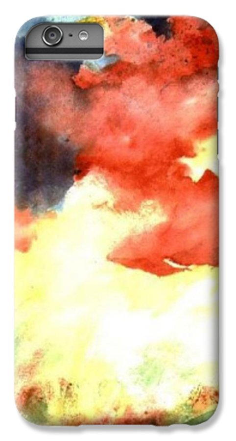 Autumn IPhone 7 Plus Case featuring the painting Autumn Storm by Andrew Gillette