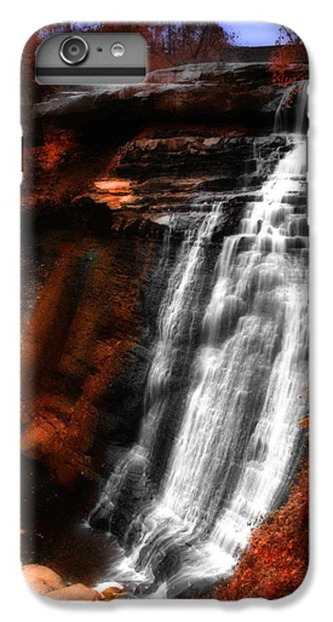 Autumn IPhone 7 Plus Case featuring the photograph Autumn Waterfall 3 by Kenneth Krolikowski