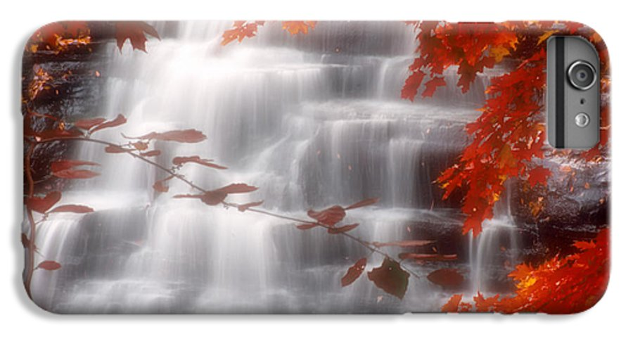 Autumn IPhone 7 Plus Case featuring the photograph Autumn Waterfall I by Kenneth Krolikowski