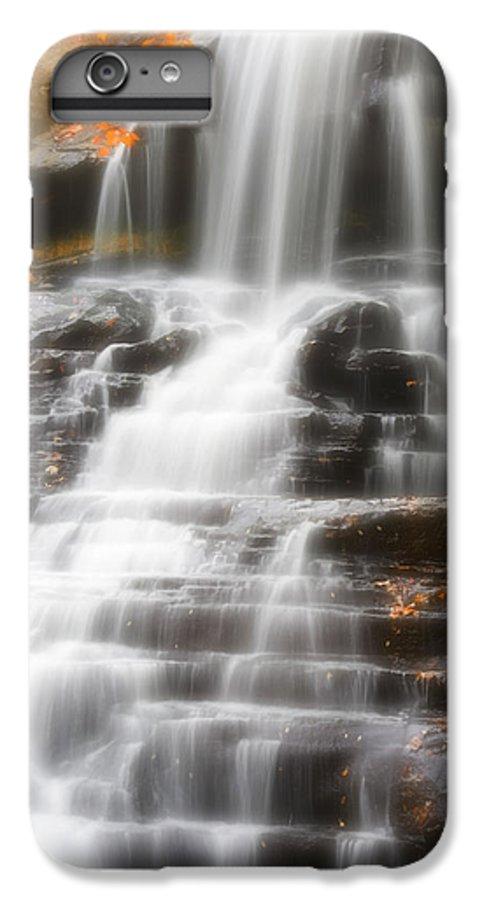 Autumn IPhone 7 Plus Case featuring the photograph Autumn Waterfall II by Kenneth Krolikowski