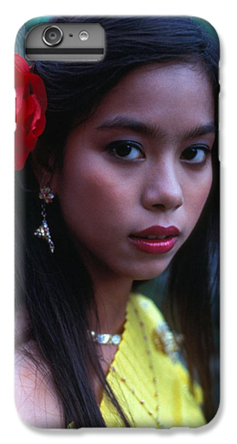 Girl IPhone 7 Plus Case featuring the photograph Beautiful Thai Girl by Carl Purcell