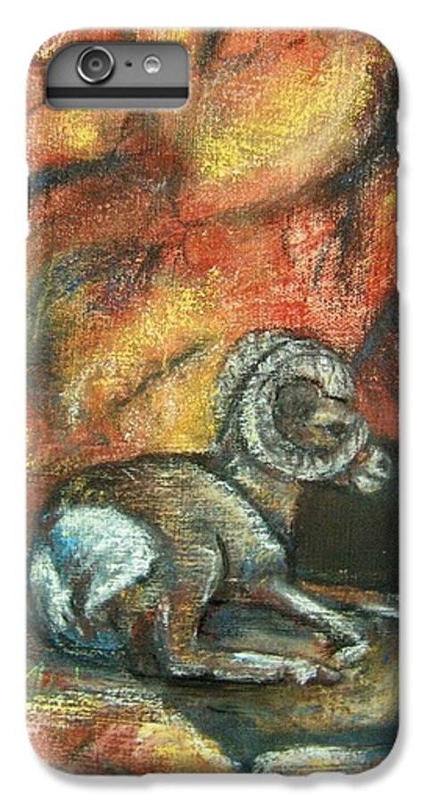 Wildlife IPhone 7 Plus Case featuring the painting Bighorn by Darla Joy Johnson