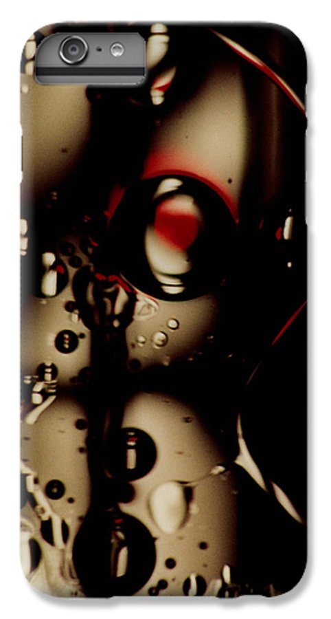 Abstract IPhone 7 Plus Case featuring the photograph Blade Runner by David Rivas