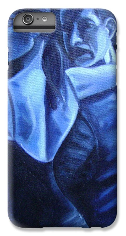 IPhone 7 Plus Case featuring the painting Bludance by Toni Berry
