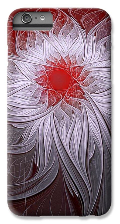 Digital Art IPhone 7 Plus Case featuring the digital art Blush by Amanda Moore