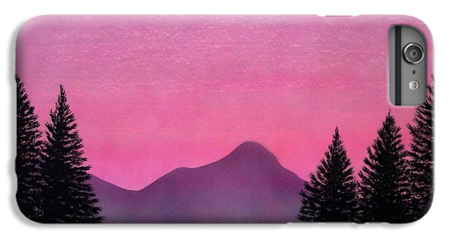 Landscape IPhone 7 Plus Case featuring the painting Brightness by Frank Wilson