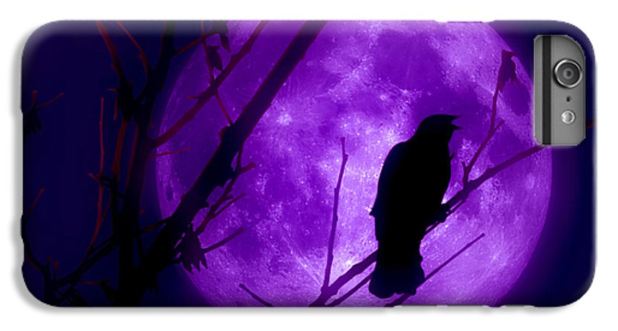 Moon IPhone 7 Plus Case featuring the photograph Calling Out To The Night by Kenneth Krolikowski