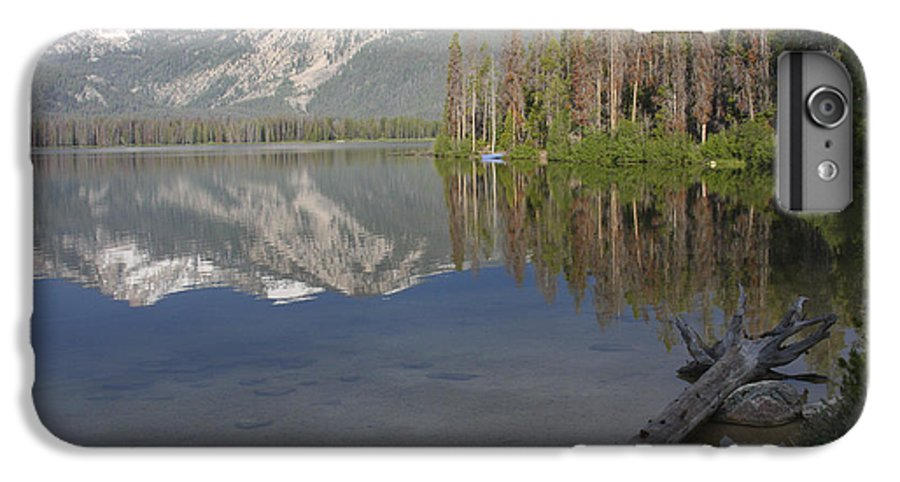 Stanley Lake IPhone 7 Plus Case featuring the photograph Calm Before The Storm by Idaho Scenic Images Linda Lantzy