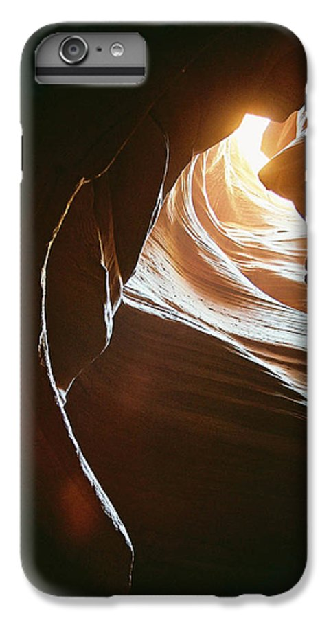 Landscape IPhone 7 Plus Case featuring the photograph Canyon Flares by Cathy Franklin