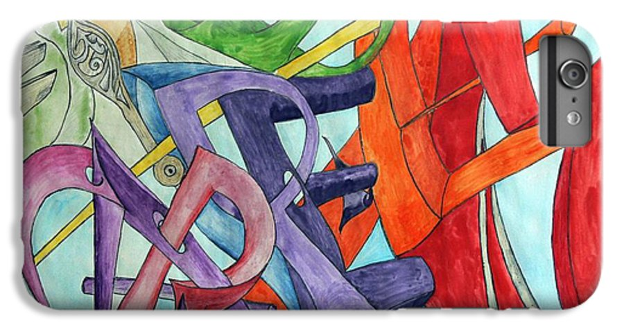 Carpe Diem IPhone 7 Plus Case featuring the painting Carpe Diem by Helmut Rottler