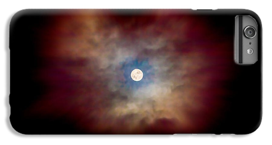 Celestial IPhone 7 Plus Case featuring the photograph Celestial Moon by Az Jackson
