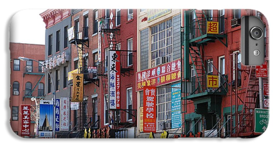 Architecture IPhone 7 Plus Case featuring the photograph China Town Buildings by Rob Hans