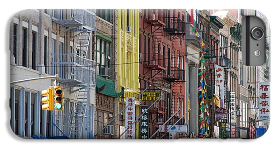 Architecture IPhone 7 Plus Case featuring the photograph Chinatown Walk Ups by Rob Hans