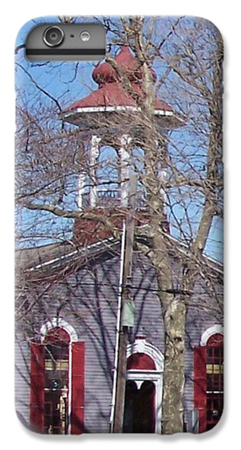 Church IPhone 7 Plus Case featuring the photograph Church In Woods by Pharris Art