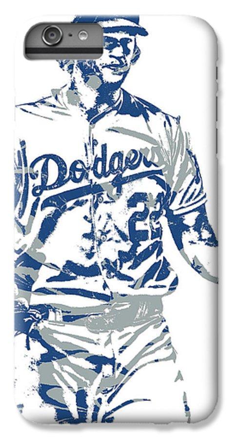Clayton Kershaw Los Angeles Dodgers iphone case