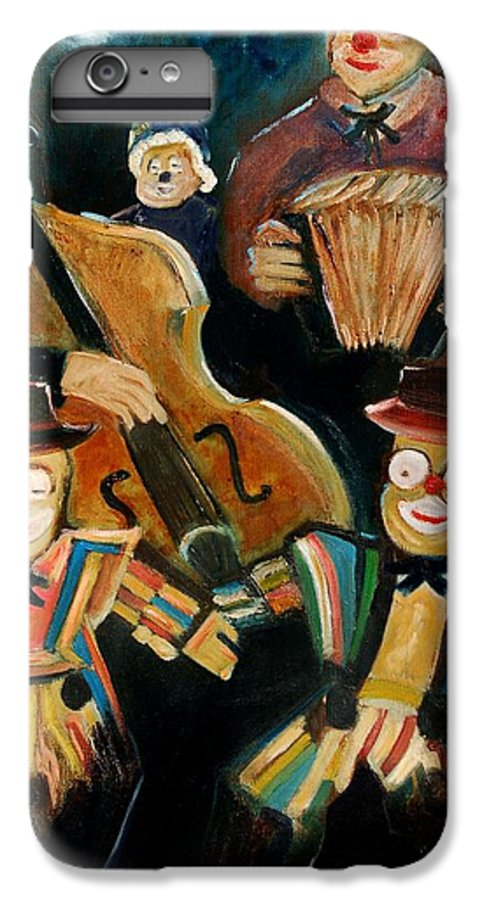 Clowns Circus IPhone 7 Plus Case featuring the print Clowns by Pol Ledent