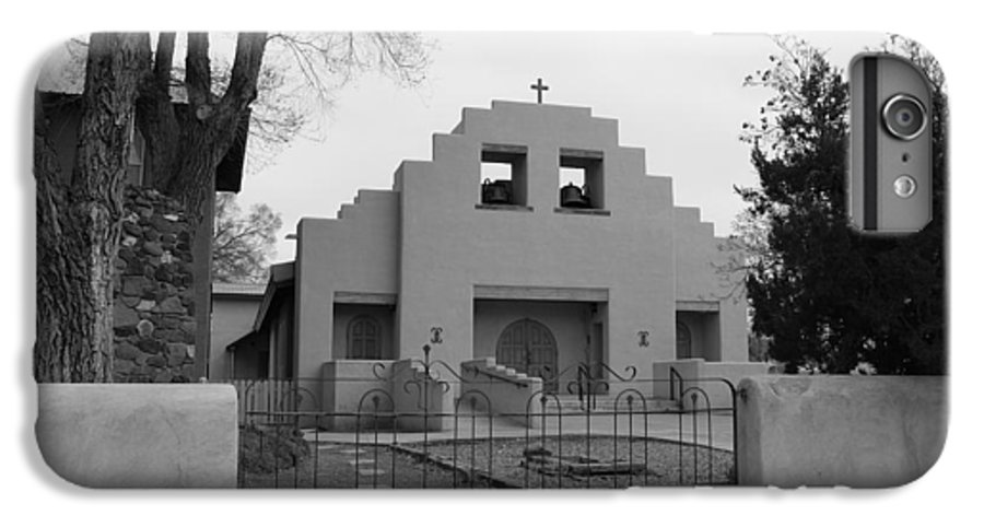 Architecture IPhone 7 Plus Case featuring the photograph Cochiti Church by Rob Hans