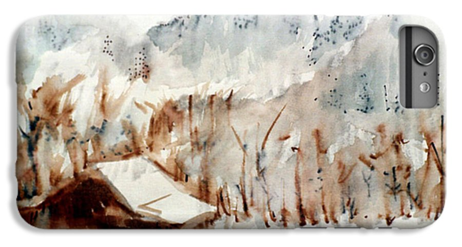 Cold Cove IPhone 7 Plus Case featuring the mixed media Cold Cove by Seth Weaver